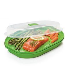 Another great find on #zulily! Progressive Green Fish & Vegetable Steamer by Progressive #zulilyfinds