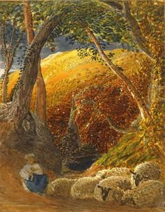 El manzano mágico - Samuel Palmer #art #painting
