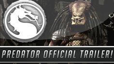 Mortal Kombat X: Predator Official Gameplay Trailer - Fatality, X-Ray &...