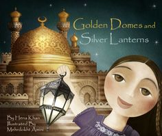 Childrens' book cover by illustrator Mehrdokht Amini