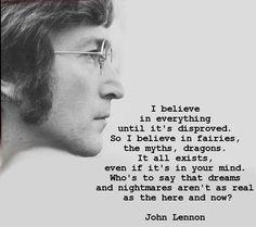 from the mind of John Lennon....