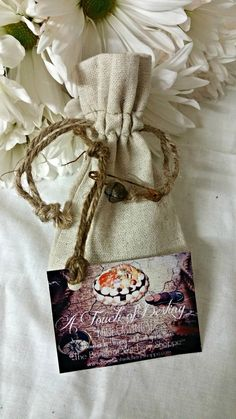 A Touch of Destiny, 21 Piece Set With Linen Bag - The Barefoot Witchery Shoppe Sea Urchin Spines, Altar Cloth, Beaded Skull, Linen Bag, Armadillo, Natural Linen, Coffin Nails, Destiny, Wicker