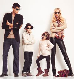 """""""Too cool"""" family portrait!"""