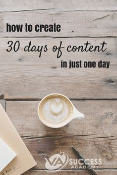 Are you one of those VA's scrambling to create content on the fly, or at a loss for what to share with your online audience? You can using content batching for your own business, AND for your clients if you're managing their content marketing. It doesn't
