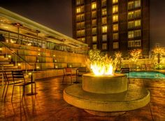 A #firepit outside a #California hotel. from #treyratcliff at http://www.StuckInCustoms.com - all images Creative Commons Noncommercial