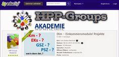 HPPG - DAS Projekt:  Einladung zum Info-Webinar: Was sind EKm - Einkom...