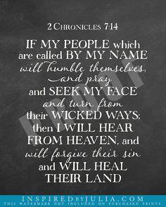 2Chronicles 7:14