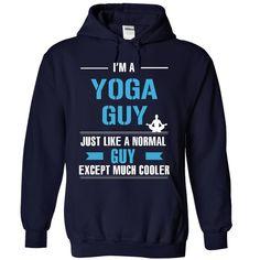 Cool yoga guy