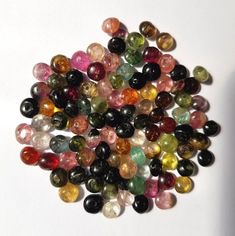 20 Watermelon Tourmaline Rondelle Beads 4mm Mixed Colours Fine Gemstone Beads Watermelon Tourmaline, Bead Crafts, Gemstone Beads, Color Mixing, Beaded Jewelry, Jewelry Making, Colours, Gemstones, Board