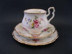 Royal Albert Tenderness Vintage Trio Cup Saucer Plate England c1970 s Victoria