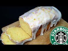 BIZCOCHO DE LIMÓN, versión mejorada del famoso bizcocho del Starbucks - YouTube Lemon Loaf Cake, Starbucks, Almond Cakes, Lemon Desserts, Bakery, Good Food, Food And Drink, Cooking Recipes, Cheese