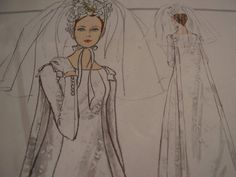 Vintage+1960's+Vogue+1727+Special+Design+Bridal+by+TheLastPixie,+$40.00