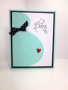 Hey, I found this really awesome Etsy listing at https://www.etsy.com/listing/237868262/handmade-baby-shower-card-stampin-up: