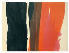 Morris Louis #morrislouis #bymariestore #art #white #red #black #artconcept…