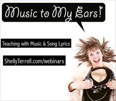 #TeachingEnglish with #Music