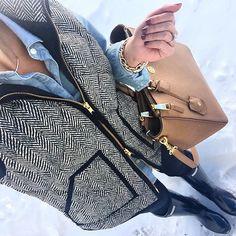 IG @mrscasual <click through to shop this look> Jcrew herringbone vest…