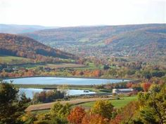 Schoharie Valley, View from Cobleskill...not really Syracuse, but it's my home state &1st college I went to!