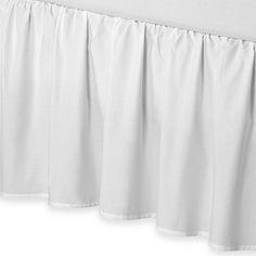 Smoothweave™ 14-Inch Ruffled Bed Skirt
