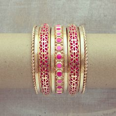http://www.preebrulee.com/collections/all/products/pink-arabian-nights-bangle-set