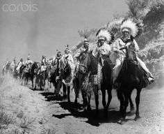 Indian chiefs of the Yakima Tribe