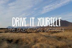 Drive it yourself: The Snæfellsnes peninsula