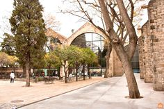 The Maritime Museum of Barcelona is located in the building of the Atarazanas Reales, close to the harbour and at the foot of the Montjuïc mountain. Barcelona Tourism, Maritime Museum, Seaside, Mountain, Culture, History, City, Building, Museums
