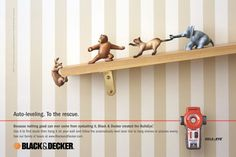 Auto-leveling. To the rescue  Advertising Agency: MacCann Erickson, New York, USA