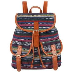 12491fd8229bc Sansarya 2017 Bohemian Style Printing Linen Vintage Backpack Women Mochila  Feminina Bagpack School Bags Drawstring Bag Sac A Dos