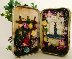 My Secret Garden Altoid Tin Inside Inspiration courtesy of pixiehill.com: