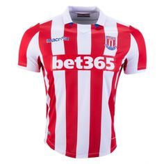 13a32cac1e3 £19.99 Stoke City Home Shirt 2016 2017 Premier League Soccer, Stoke City Fc,
