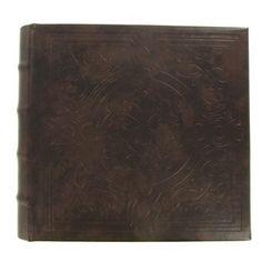 Brown Photo Album with Debossed Pattern | Shop Hobby Lobby