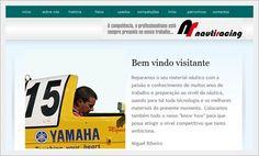 Website para Empresa Nautiracing de Miguel Ribeiro Campeão Nacional de Motonautica
