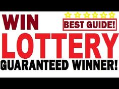 How to win Lotto / Lottery Jackpot - Guaranteed Everytime (Best Guide) Lotto Lottery, Lottery Strategy, Lottery Tips, Lottery Games, Lottery Tickets, Winning Lottery Numbers, Lotto Numbers, Lotto Winners, Winning The Lottery