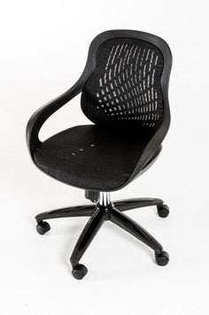 Modrest Claudia Modern Black Office Chair