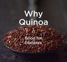 How quinoa can help diabetes. >>>> Quinoa (KEEN-wah) has become popular in the US as a nutritional powerhouse. It has more protein, antioxidants, minerals, and fiber. It's also gluten free, which makes it a healthy alternative for people sensitive to glutens found in wheat. There is also evidence to suggest that eating more quinoa — or supplementing it in recipes that call for other grains — can help people with diabetes manage their blood sugar levels and possibly prevent other conditions.