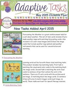 New clickable product flyer for May. New product flyers will be available every month and highlight the new products added to my store.