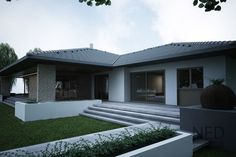 projekt bungalov SIM - NED ATELIER Sims, Garage Doors, Outdoor Decor, House, Home Decor, Houses, Atelier, Home, Home Architecture
