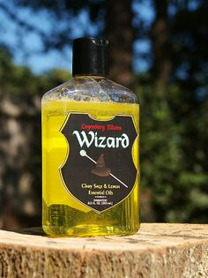 D&D Style Shampoo  The Wizard by LegendaryElixirs on Etsy, $10.00 Hubby would totally LOVE this!