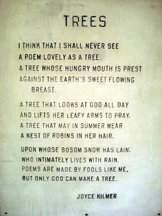 I had to memorize this poem in 8th grade.