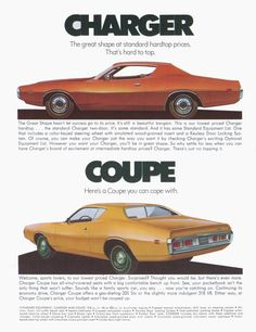 1971 Dodge Charger and Coronet