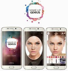 Brilhos da Moda: Aplicação que permite experimentar a maquilhagem d...