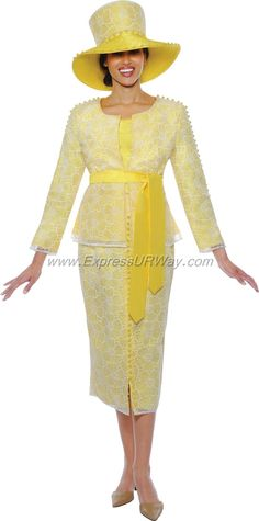 Ladies Suits by Nubiano - Spring 2014 - www.ExpressURWay.com - Ladies Suits, Womens Suits, Church Suits, Nubiano, Spring 2014, Suits for Church, Church Suits, Womens Church Suits
