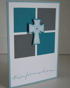 handmade confirmation cards - Google Search