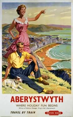 Aberystwyth BR(WR) by Harry Riley Fine Art Print