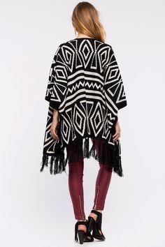 Кардиган Размеры: S/M, M/L Цвет: черный с принтом Цена: 2237 руб.     #одежда #женщинам #кардиганы #коопт