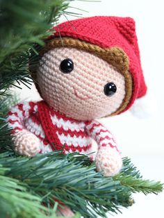 christmas elf amigurumi crochet pattern 2