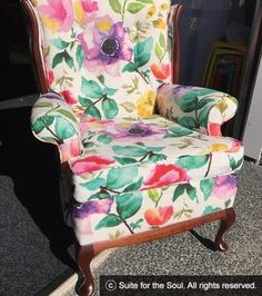 miss peaches and cream Restoring Old Furniture, Furniture Restoration, Wingback Chair, Peaches, Accent Chairs, Cream, Design, Home Decor, Upholstered Chairs