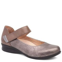 NEW Spring 2017: Danso Audrey Leather Gold Shoe