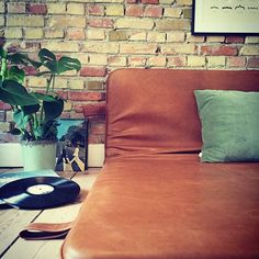 Down to earth #them #bythornam #slowliving #leather #design #interiordesign #daybed #shapeityourway