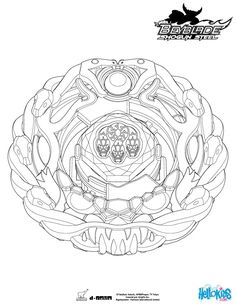 Orochi Coloring Page More Beyblade Sheets On Hellokids
